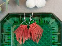 Johanna Rundel Macrame Earrings