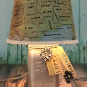 Joys Life Map Lampshade