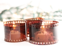 Know and Tell Crafts Film Negative Votive