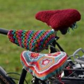 Landlust Crochet Bicycle Seat Cover