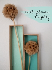 Leona Lane Dry Flower Wall Art