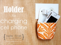 Make It and Love It Recycled Holder for Charging Cell Phones