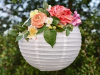 Make Life Lovely Paper Flower Lamp