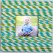 Making Lemonade Drinking Straw Photo Frame