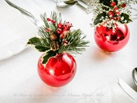 Mamma Papera Christmas Ornament Table Decoration