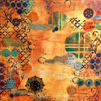 Marjie Kemper Designs Canvas Collage
