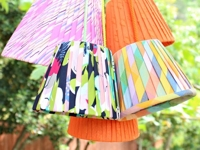Mark Montano Pleated Lampshades