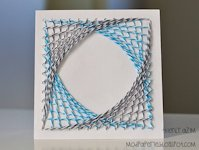 Mod Paperie String Art Card