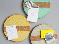 Momtastic Chelsea Foy Painted Cork Boards