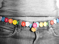 Morning Creativity Button Belt
