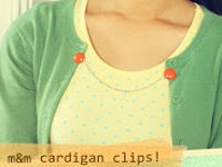 Much Love Cardigan Clips