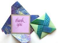 My Paper Arts Pinwheel Fold Card