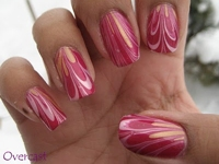 My Simple Little Pleasures Marbled Nails
