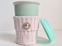 My Uncommon Slice of Suburbia Recycled Coffee Cup Cozy