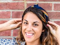 One CrafDIY Girl Headband from Tie