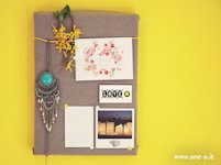 One O DIY Pin Board from Shoe Box