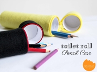 Onelmon Toilet Paper Roll Pencil Case