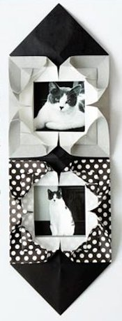 Origami Spirit Origami Heart Picture Frame