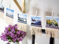 PBteen Blog Fringe Photo Garland