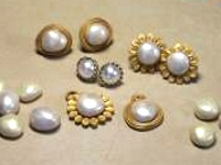 PCC Polymer Clay Faux Pearls