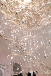 POPSUGAR Bubble Chandelier
