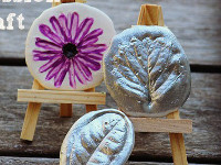 Paging Fun Mums Nature Plaster Impressions