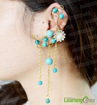 Pandahall Intricate Beaded Earring