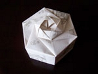 Paper Box Hexagonal Origami Box