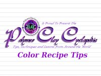 Polymer Clay Cyclopedia Colour Recipes for Polymer Clay