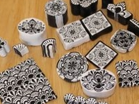 Polymer Clay Workshop Polymer Clay Black and White Canes