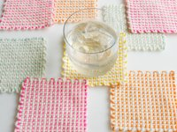 Purl Soho Pin Loom Coasters