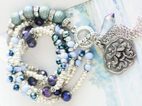 Quiet Lion Creations Beaded Bracelet