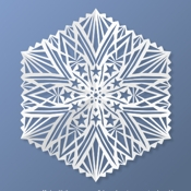 RectangleWorld Design Paper Snowflakes