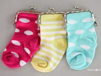 Repeat Crafter Me Baby Sock Coin Purse
