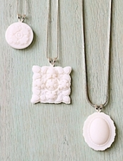 Rosyscription Faux Milk Glass Jewelry