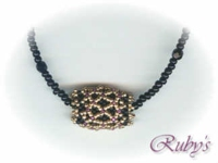 Rubys Beadwork Netted Bead