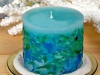 Running With Sisters Sea Glass Candle