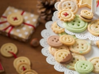Sanella Button Cookies