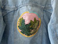 Sarah K Benning Contemporary Embroidery Embroidered Patch