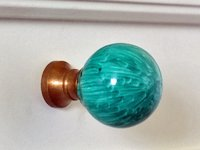 School of Decorating Faux Malachite Knob