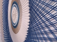 Shaun Kardinal In-Progress Spirograph Wall Decoration