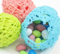 SheKnows Sandra Denneler Easter Eggs from Chocolate Lace