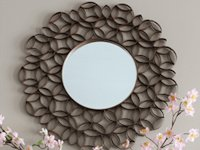 Simply Bloom Toilet Paper Roll Mirror