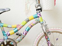 Skunkboy Blog Duct Tape Bike Makeover