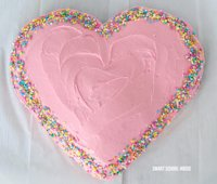 Smart School House Bake a Heart Cake