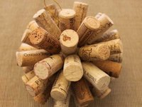 Sometimes Homemade Wine Cork Ornament