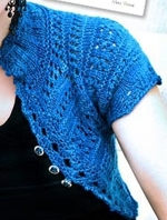 Stitch Diva Studios Crazy Lace Cardigan
