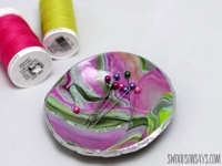 Swoodson Says Magnetic Polymer Clay Pin Bowl