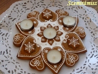 Szemiramisz Gingerbread Advent Wreath