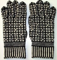 TataAndTatao Knitted Sanquhar Gloves